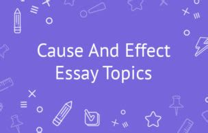 Thesis statement examples cause and effect - WordPresscom